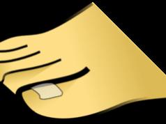 toenail fungus yellow clipart