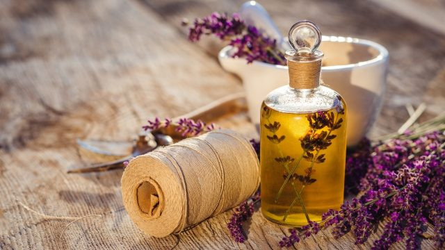 Lavender Oil for treating nail fungus