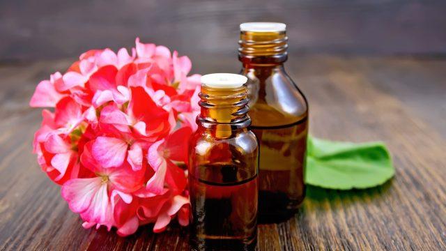 Geranium Essential Oil for nail fungus