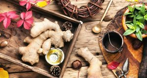 treating nail fungus with Ginger