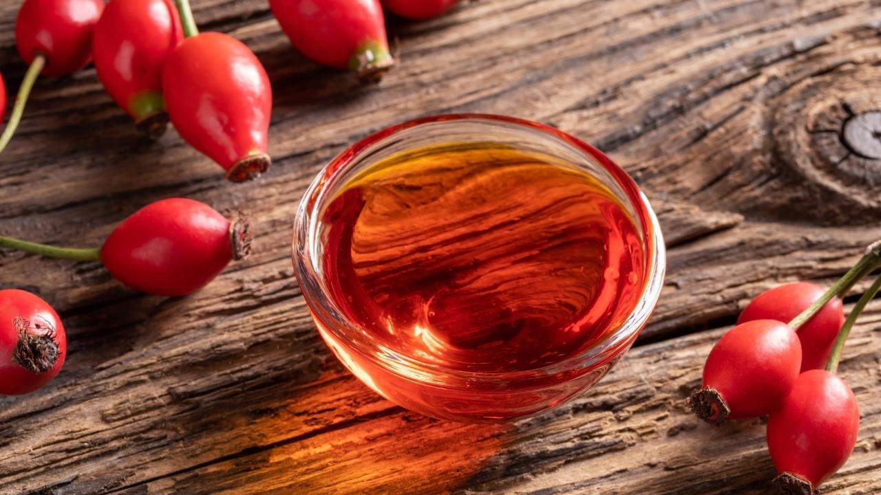 Rosehip Oil nail fungus treatment