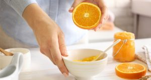 nail fungus treatment with Citrus Body Scrub
