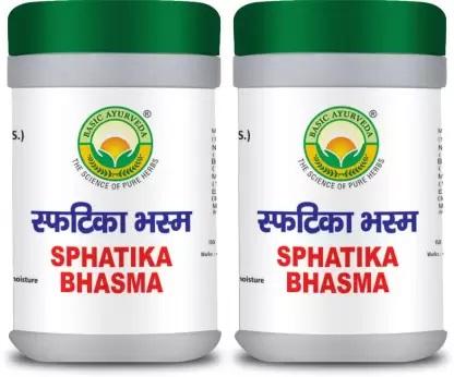 Sphatika Bhasma fungal infection treatment